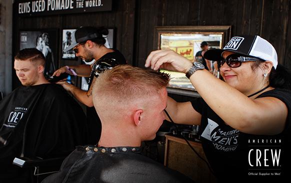 American Crew - Blue Suede Barbershop